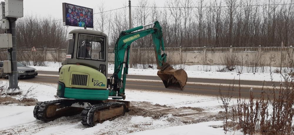 auto2help, Аренда мини экскаватора для чистки снега с.Быково, Раменский район.