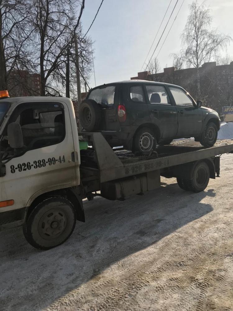 Эвакуация по городу Жуковскому. Цена 2000 рублей